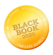 Black Book 2020 Unbiased Source Seal Logo