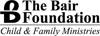The Bair Foundation Child & Family Ministries Logo